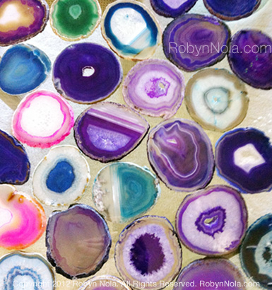 Agate Drink Coasters