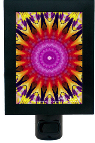 Mandala Night Light by Robyn Nola