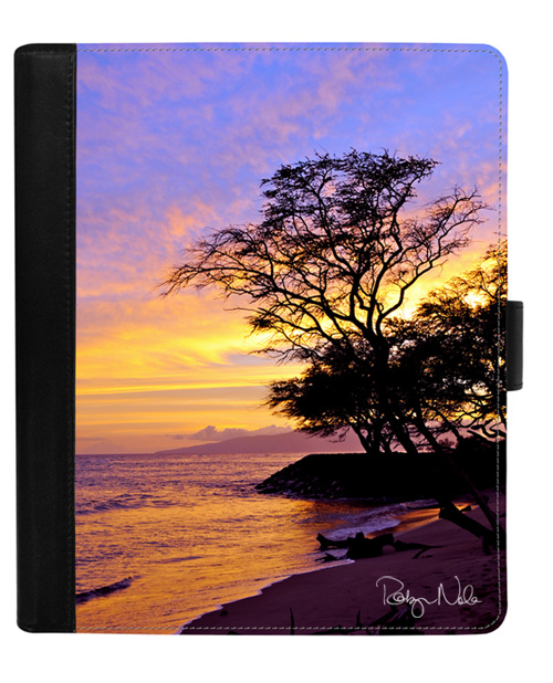 artistic leather iPad Case