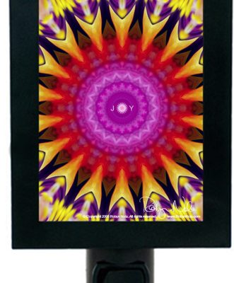 Mandala Night Light by Robyn Nola