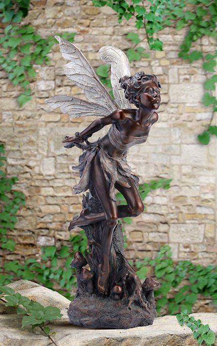 Superb New! U201cTitania, Queen Of The Fairiesu201d Garden Fairy Statue: Fairy Art For  Your Garden | Robyn Nola Gifts