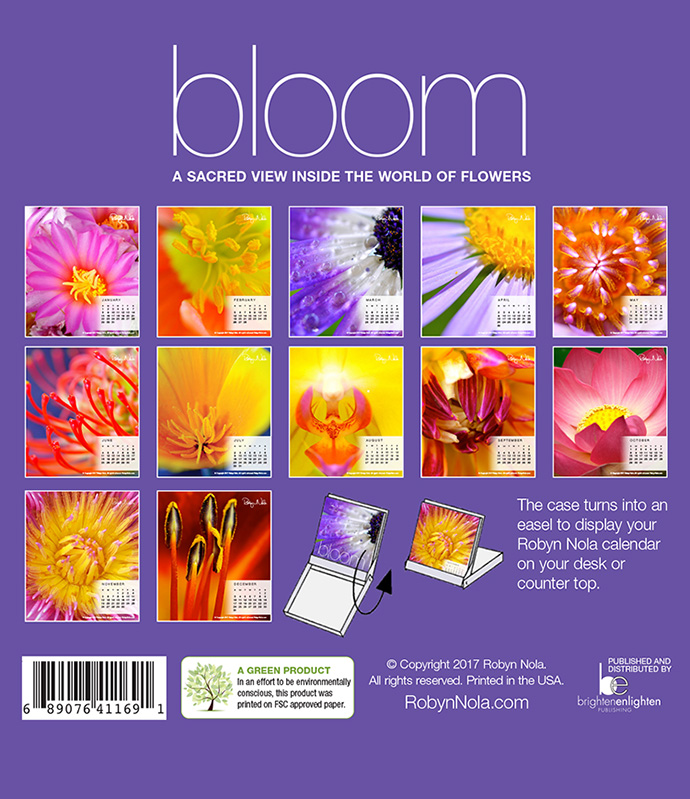Bloom 2019 Flower Calendar By Robyn Nola Robyn Nola Gifts